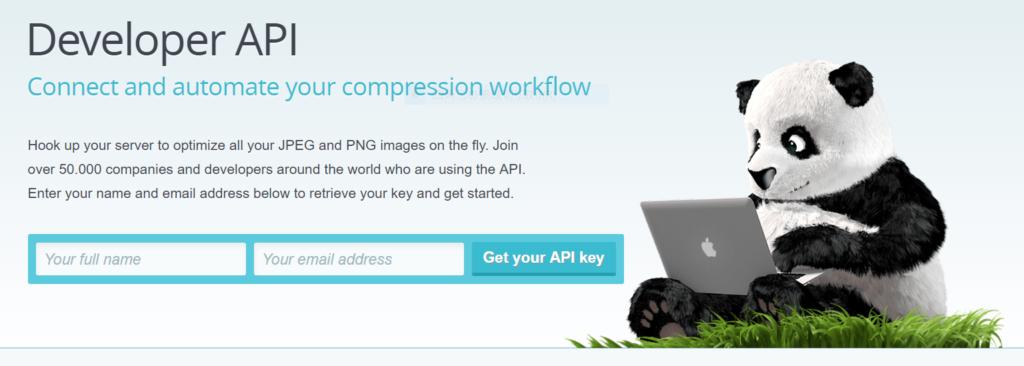 TinyPNG API key