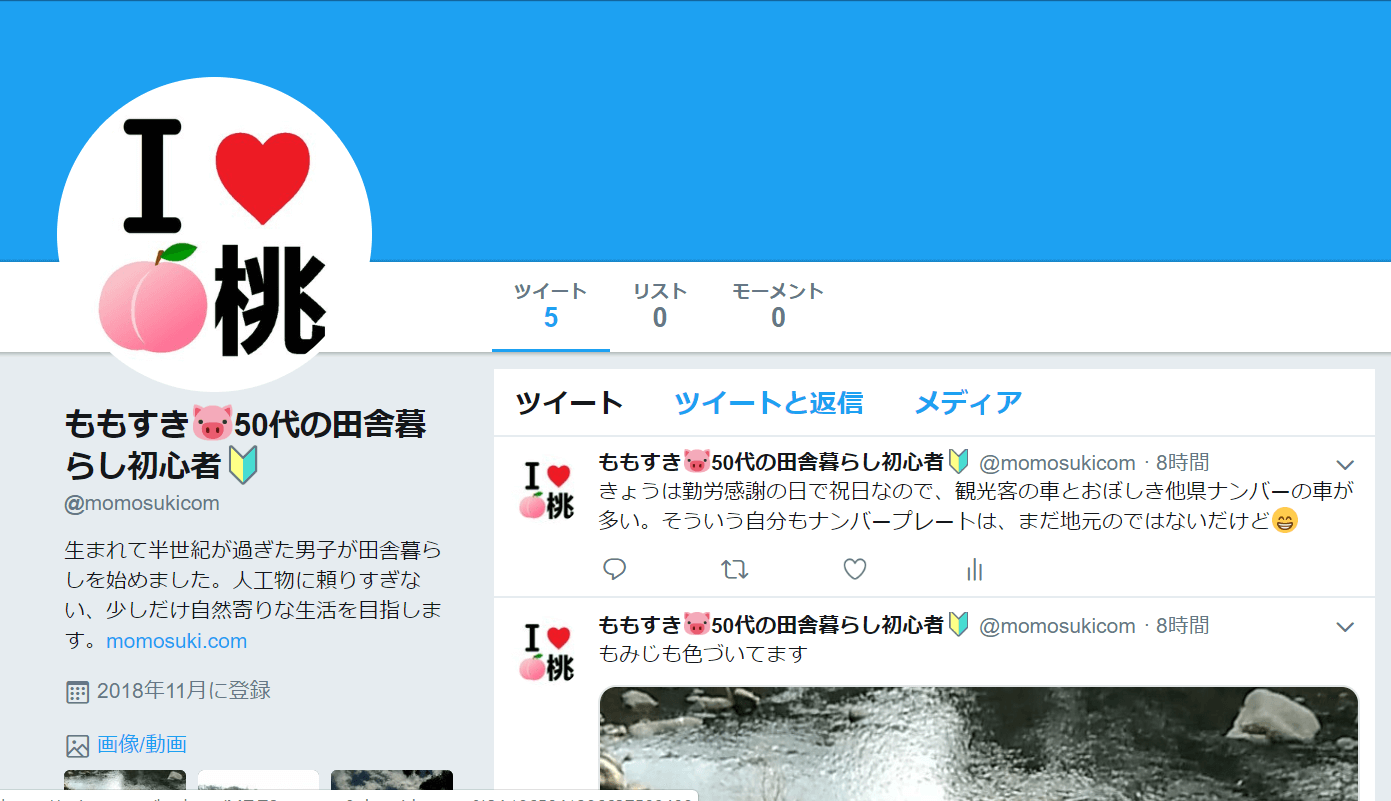 Twitter momosukicom