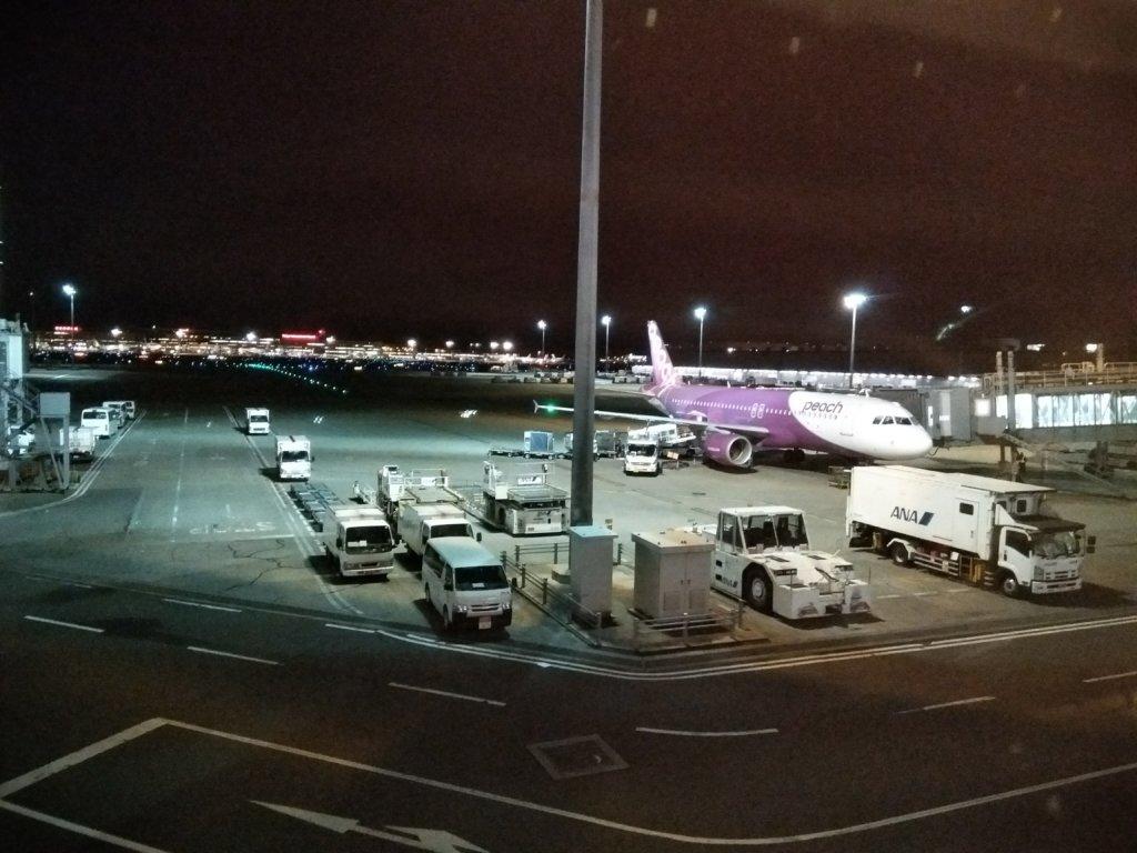 ピーチエア エアバスA320-200 羽田空港国際線ターミナル