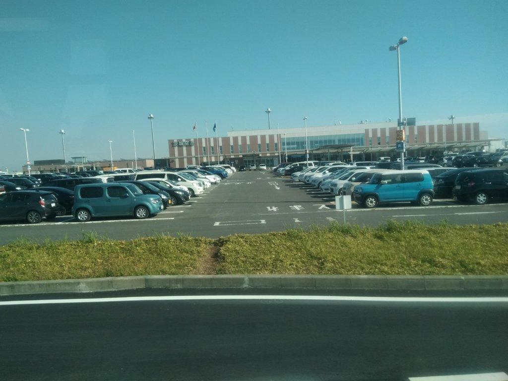 茨城空港の駐車場