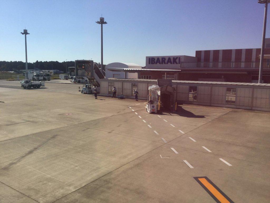 茨城空港の外観