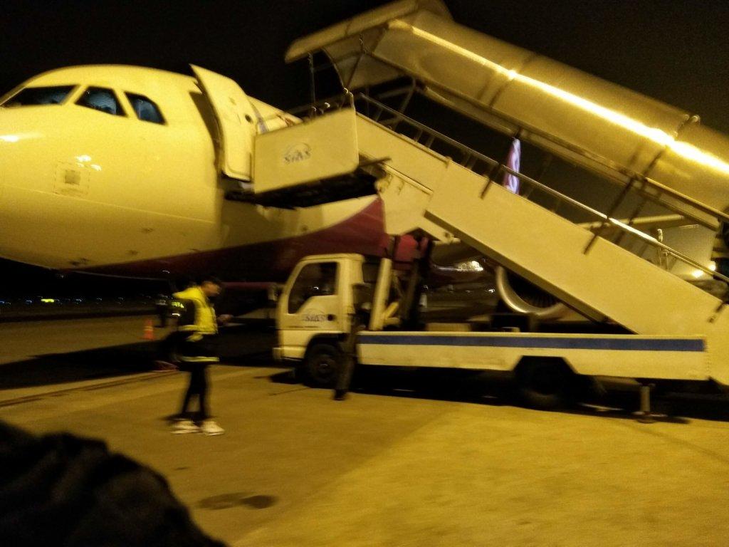 ピーチエアの国際線MM899に上海浦東国際空港から搭乗