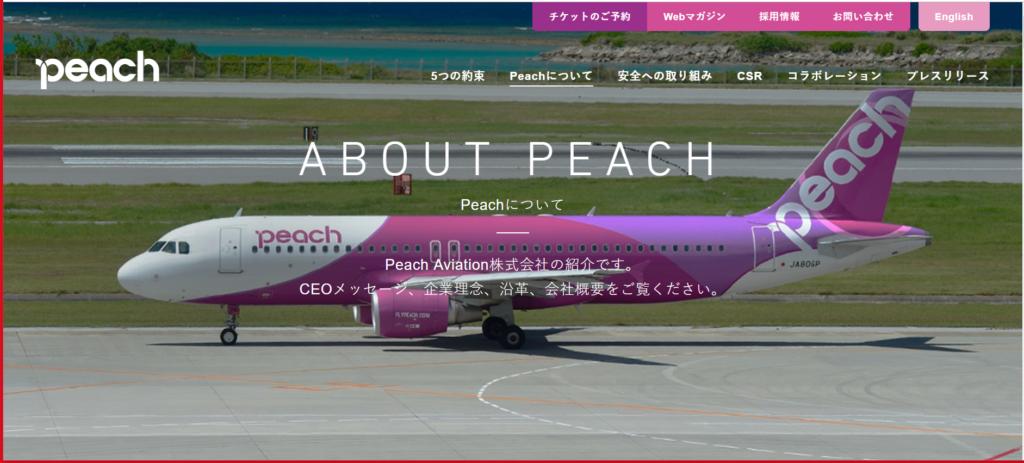 Peachについて